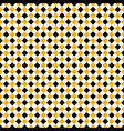 seamless yellow black rhombus background vector image vector image