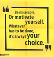 quote square template vector image