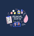annual medical checkup vector image vector image