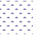 Hat pattern cartoon style vector image vector image