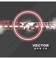 Minimal tech background vector image vector image