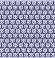panda pattern design background vector image vector image