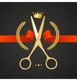 Scissors Barber Concept vector image vector image