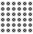 seamless pattern gothic crosses vector image