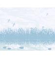 wetland vector image vector image