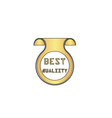 Best quality computer symbol vector image