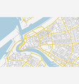 abstract city map in soft colors