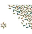 arabic 3d isometric color geometric mosaic vector image vector image