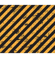 Caution grunge line vector image