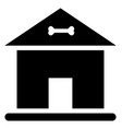 dog kennel vector image