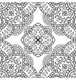 ornamental abstract pattern vector image vector image