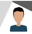 user profile icon design vector image vector image