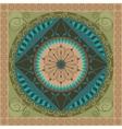 Vegetal Mandala vector image