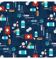 Veterinary set seamless pattern vector image vector image