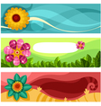 easter card set vector image