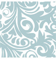 hand drawn sketch of abstract floral vector image vector image