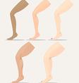 leg vector image vector image