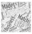Life Coaching And Business A Match Made In Heaven vector image vector image