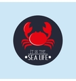 nautical sea life related icons image vector image vector image