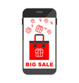 smartphone big sale bag vector image