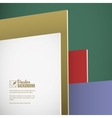 Abstract background parallel planes vector image