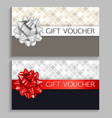 abstract gift voucher template
