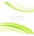 Abstract lines background Template design vector image vector image