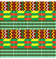 african kente cloth style seamless pattern vector image vector image
