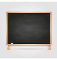 Black chalk board vector image