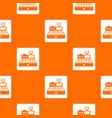 sale cash register pattern seamless vector image vector image