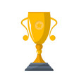 sport competition winner cup isolated icon vector image vector image