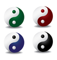 Ying yang patterns vector | Price: 1 Credit (USD $1)