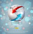 globe concept 2 vector image