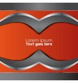 background abstract Orange black vector image vector image