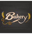 bakery rolling pin malt background image vector image vector image