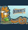 Greeting card for oktoberfest