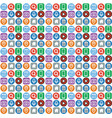 web icons background vector image vector image