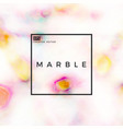 white marble vector image