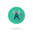 wifi icons for remote access and communication via vector image vector image
