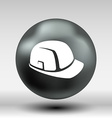 construction helmet icon button logo symbol vector image