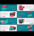 50 percent discount sale special offer web pages vector image vector image