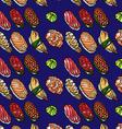 beautifui hand drawn seamless pattern sushi vector image