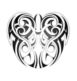 Maory style tattoo vector image vector image