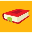 Nice book flat icon vector image vector image