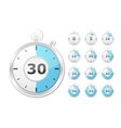 Paper Timers vector image