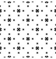 seamless cross pattern minimalist texture vector image vector image