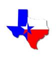 texan background vector image vector image