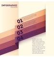 Paper options template vector image
