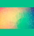 abstract space colorful background chaotically vector image vector image