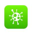 chlamydia virus icon green vector image